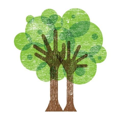 Brilliant Brown by Brilliant Brown Green Tree Logo With Like Trunk And