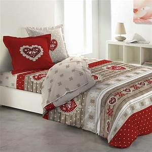Parure De Drap Ikea : parure de draps 4 pi ces lit 160 cm 100 flanelle de coton coeur rouge parure de draps eminza ~ Melissatoandfro.com Idées de Décoration