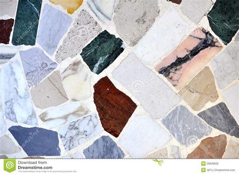 pavimento colorato pavimento colorato parti di marmo fotografia stock