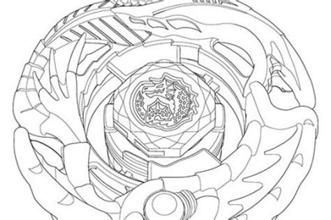 Beyblade Coloring Pages - Elitflat