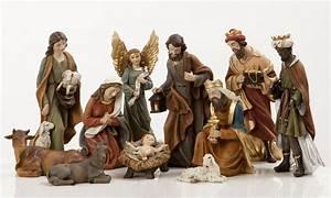 Find me vintage outdoor nativity sets
