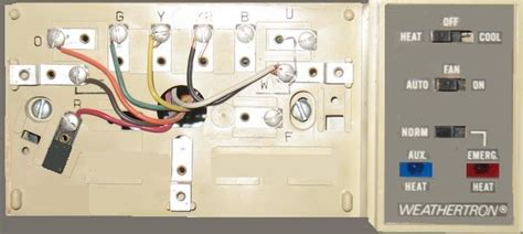 wire a thermostat inside 8 wire thermostat wiring diagram fuse box and wiring diagram