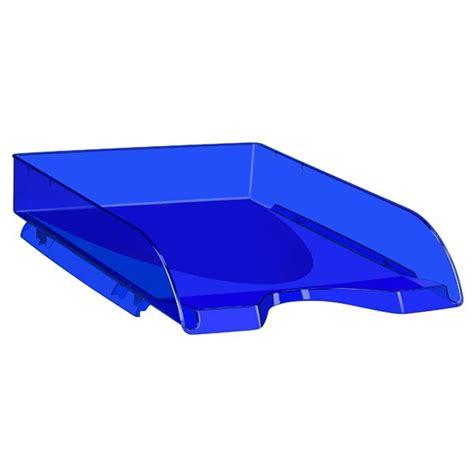 corbeille 224 courrier happy by cep bleu corbeille courrier banette 224 papier document rangement