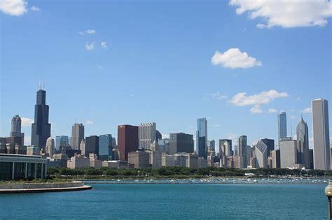 photo chicago michigan lake tourism  image
