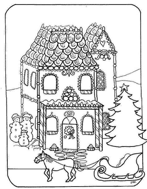 Victorian Christmas Coloring Pages - Eskayalitim