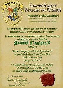 printable birthday invitation hogwarts letter harry potter With hogwarts invitation letter
