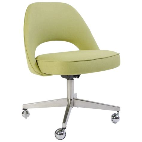 walmart green swivel chair saarinen for knoll executive armless chair in green