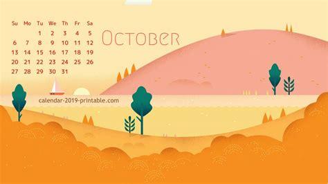october  calendar wallpaper calendar  wallpapers