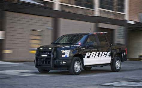 Ford offers new F 150 pickup truck for police duty   KING5.com