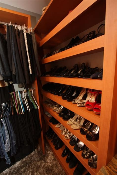 Closets Cleveland by Custom Shoe Storage Traditional Closet Cleveland