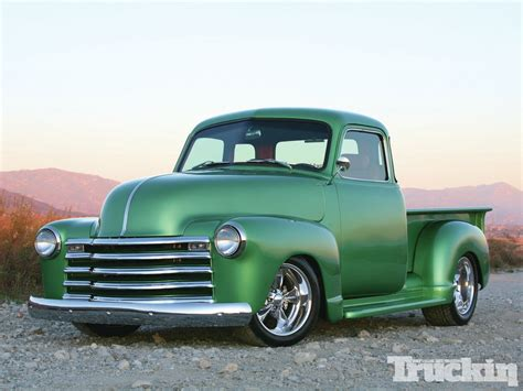 Heirloom  1947 Chevy Truck  Classic Truck  Truckin Magazine