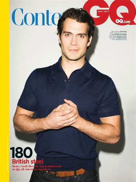 Henry Cavill for GQ UK | Oh yes I am