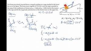 Newton U0026 39 S 2nd Law  Kinetic And Static Friction  Level 2