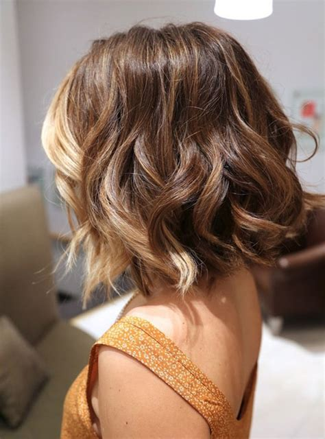 Trendy ombre straight long bob hairstyle for shoulder length hair. 25 Short Wavy Haircuts 2012- 2013 | Short Hairstyles 2017 ...