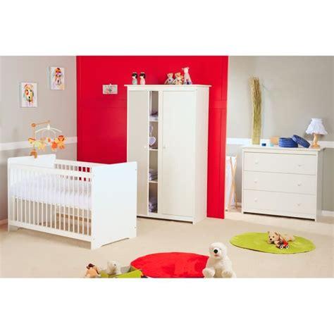 chambre bébé alibaby chambre bébé complète grain d 39 orge 60x120 blanc blanc