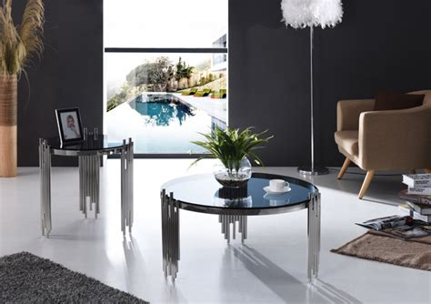 modern  coffee table  tempered glass