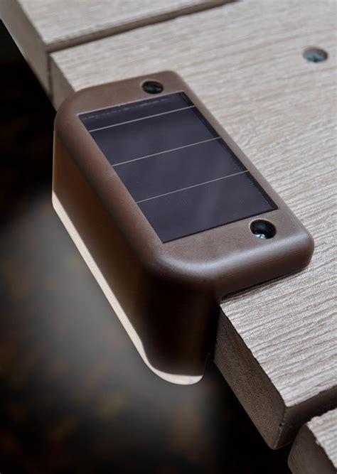 solar powered led stair lights  pack
