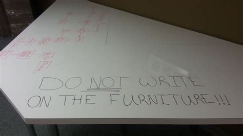 dont write   furniture whiteboard conference table