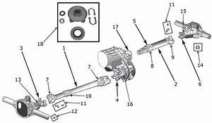 Jeep Wrangler Yj Drive Shaft Parts   U0026 39 87