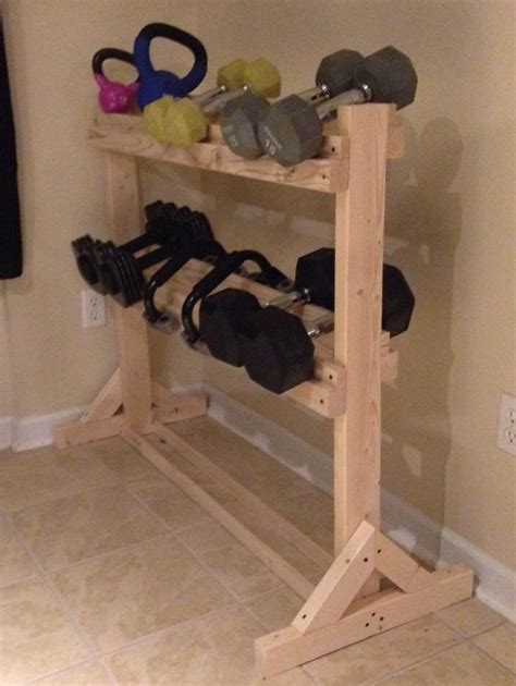 dumbbell rack home gym ideas diy gym equipment diy home gym diy gym