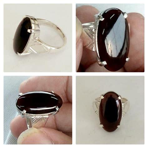 jual cincin perak 925 wanita batu natural yaman hq di lapak 789star arevamir