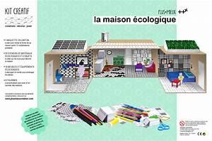 Maison écologique En Kit : kits maquettes ~ Dode.kayakingforconservation.com Idées de Décoration