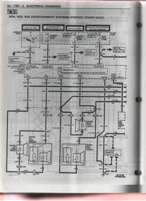 1996 10 speaker pontiac system pre monsoon aftermarket 5 channel lifier ls1tech camaro