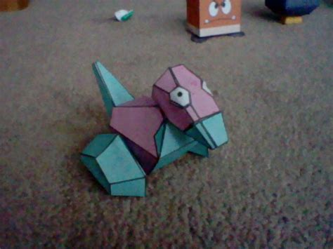 papercraft pokemon porygon  jepale  deviantart