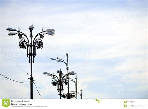 poteau d eclairage exterieur poteau d 233 clairage photographie stock libre de droits image 38705277