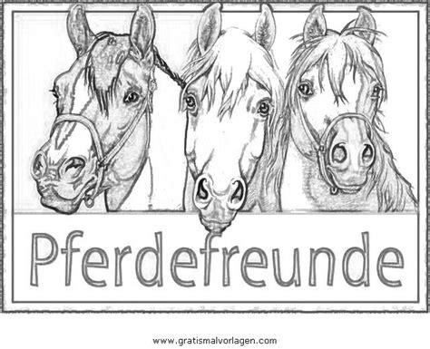 pferdefreunde  gratis malvorlage  beliebt diverse