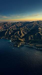 Big, Sur, 4k, Wallpaper, Mountains, Golden, Hour, Sunset, Evening, Macos, Stock, California, 5k