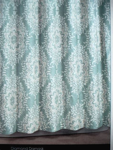 tahari home curtains blue shower curtain fabric tahari home