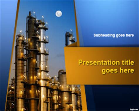 industry powerpoint template