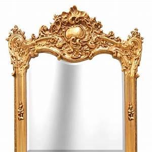 Grand Miroir Baroque : grand miroir rectangulaire baroque dor ~ Teatrodelosmanantiales.com Idées de Décoration