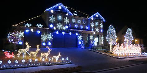 synchronized christmas light show christmas lights card
