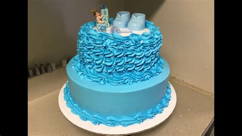 pasteles de baby shower como decorar pastel de baby shower para ni 241 o facil