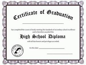 25 high school diploma templates free download With free printable high school diploma templates