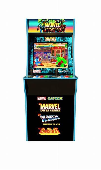 Arcade Arcade1up Marvel Machine 4ft Superheroes Pac