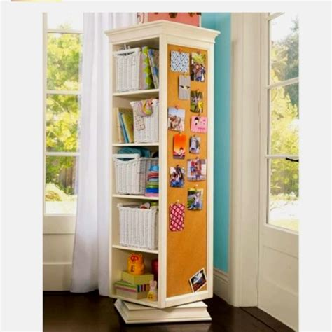 Rotating Bookcase Ikea by Bookshelf On A Lazy Susan Office Library Study