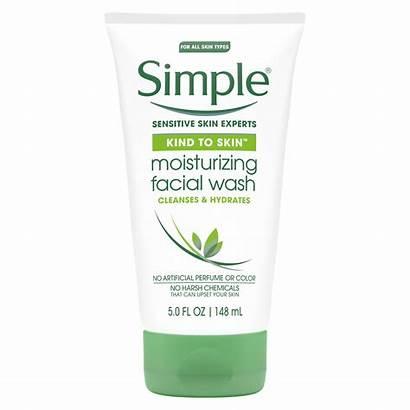 Simple Wash Facial Moisturizing Skin Oz Kind