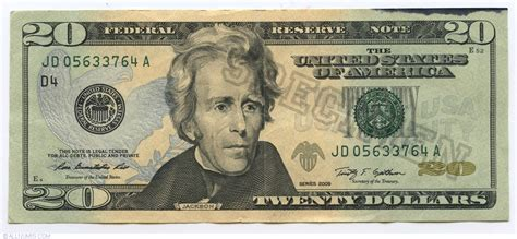 20 Dollars 2009 (d), 2009 Series