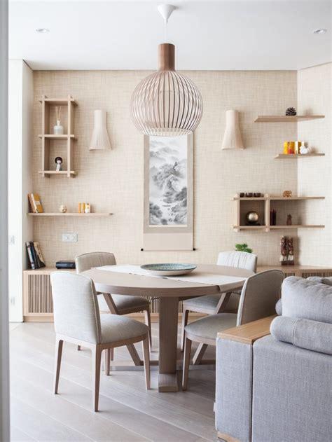 japanese minimalist apartment  neutral shades digsdigs
