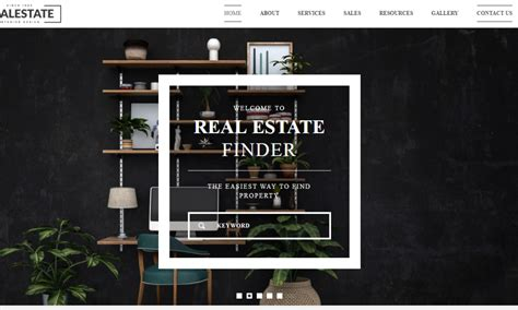 Free Real Estate Themes Real Estate Free Bootstrap Theme