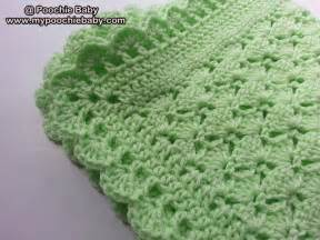 One-Skein Baby Blanket Crochet Pattern