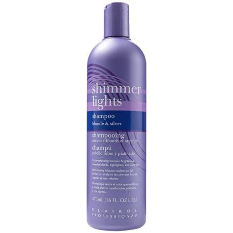 shimmer lights conditioning shampoo  blonde silver