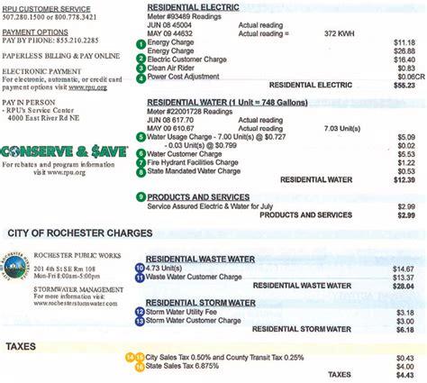 rpu   read  bill  services rochester mn
