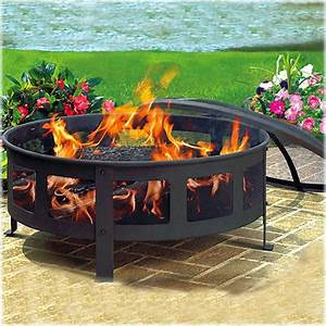 Unique arts 30 copper fire pit fire pit design ideas for Patio fire pits wood
