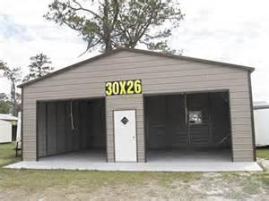 Custom Metal Garage Buildings