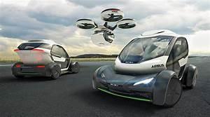 Voiture Volante Airbus : airbus italdesign pop up une capsule volante quatre roues ~ Medecine-chirurgie-esthetiques.com Avis de Voitures