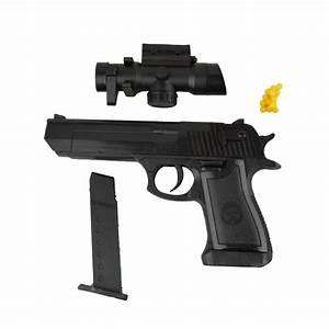 Vidéo De Pistolet : 141458 pistolet en plastique jouet 1823 87 avec pointeur 6 mm billes i ~ Medecine-chirurgie-esthetiques.com Avis de Voitures